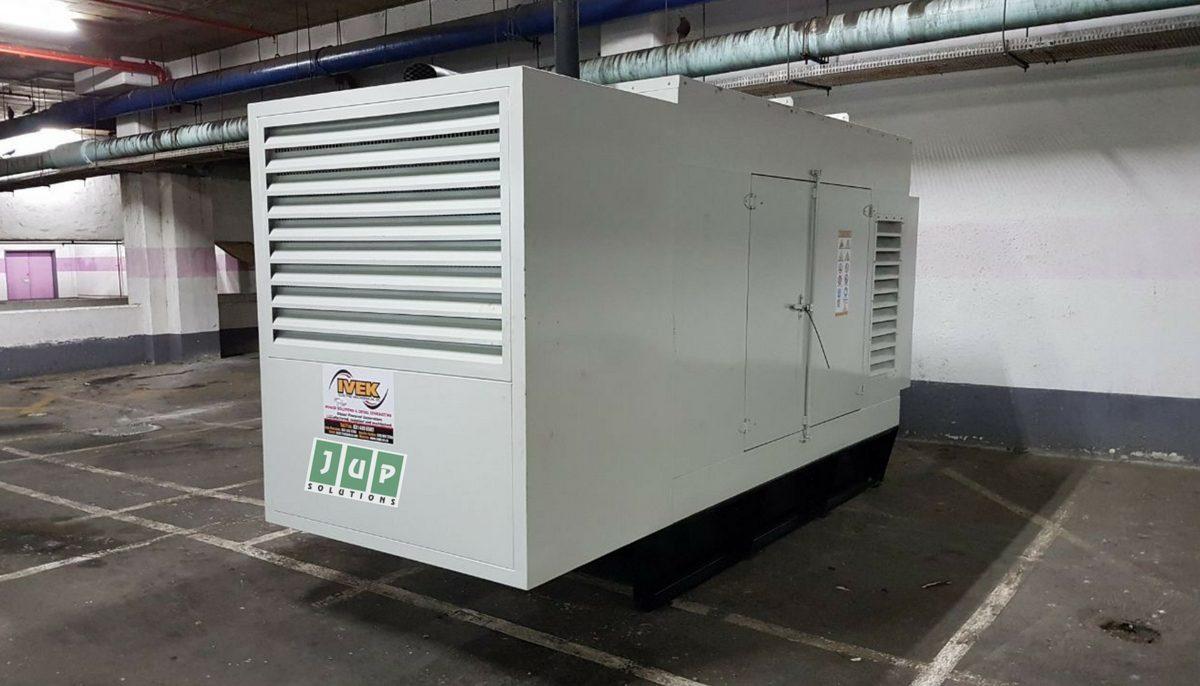 JUPS generator underground